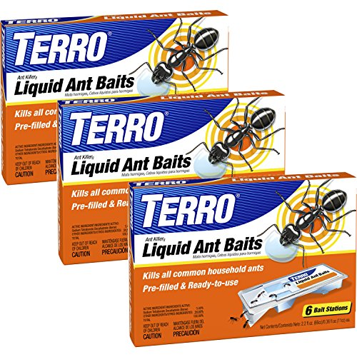 Terro T300-3 Ant Killer Liquid Ant Baits (3 (Kill Bait)