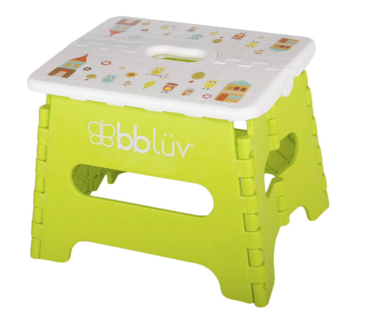 bblüv - Stëp - Foldable Step Stool - Safe, Compact and Easy to Clean (Lime) bbluv Group B0114-L