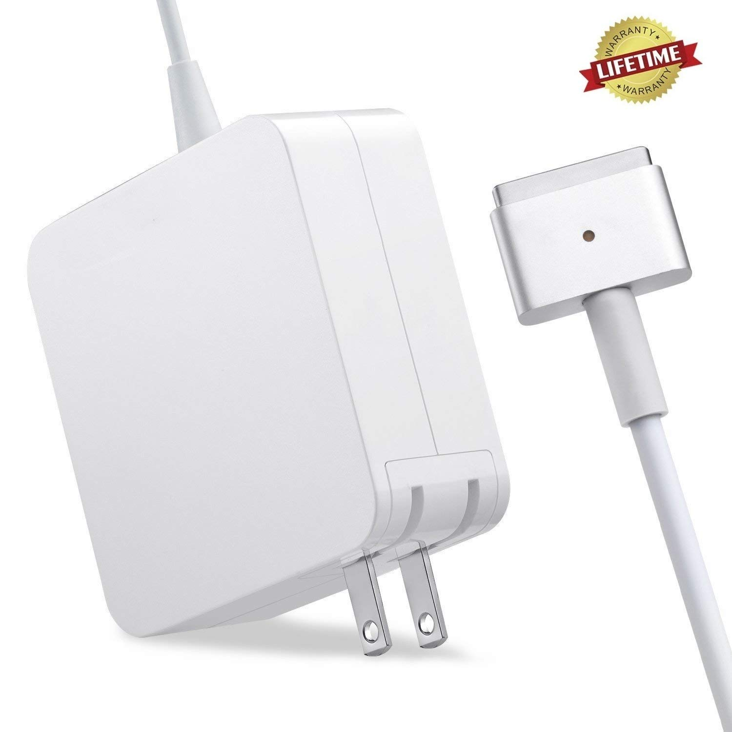 Mac Book Air Charger,Replacement 45W Magsafe 2 Power Adapter T-Tip Charger for Mac Book Air 11 inch and 13 inch ... (45T)