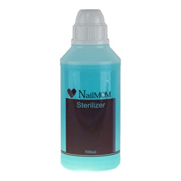 Amazon Com Nailmom Sterilize 500ml Beauty Salon Tool Cleaner