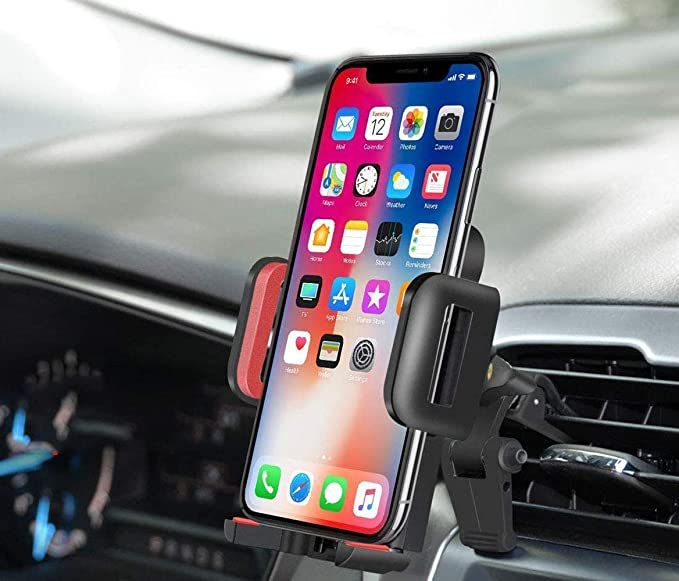 Car Dash Mounting Kits Car Electronics & Accessories Universal Portable Adjustable 360 Degrees Rotatable Cell Phone GPS in Car Air Vent Mount Stand Holder Cradle Bracket