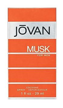 Jovan Musk for Men Cologne Spray by Jovan 1 Fluid Ounce Eau de Cologne at amazon