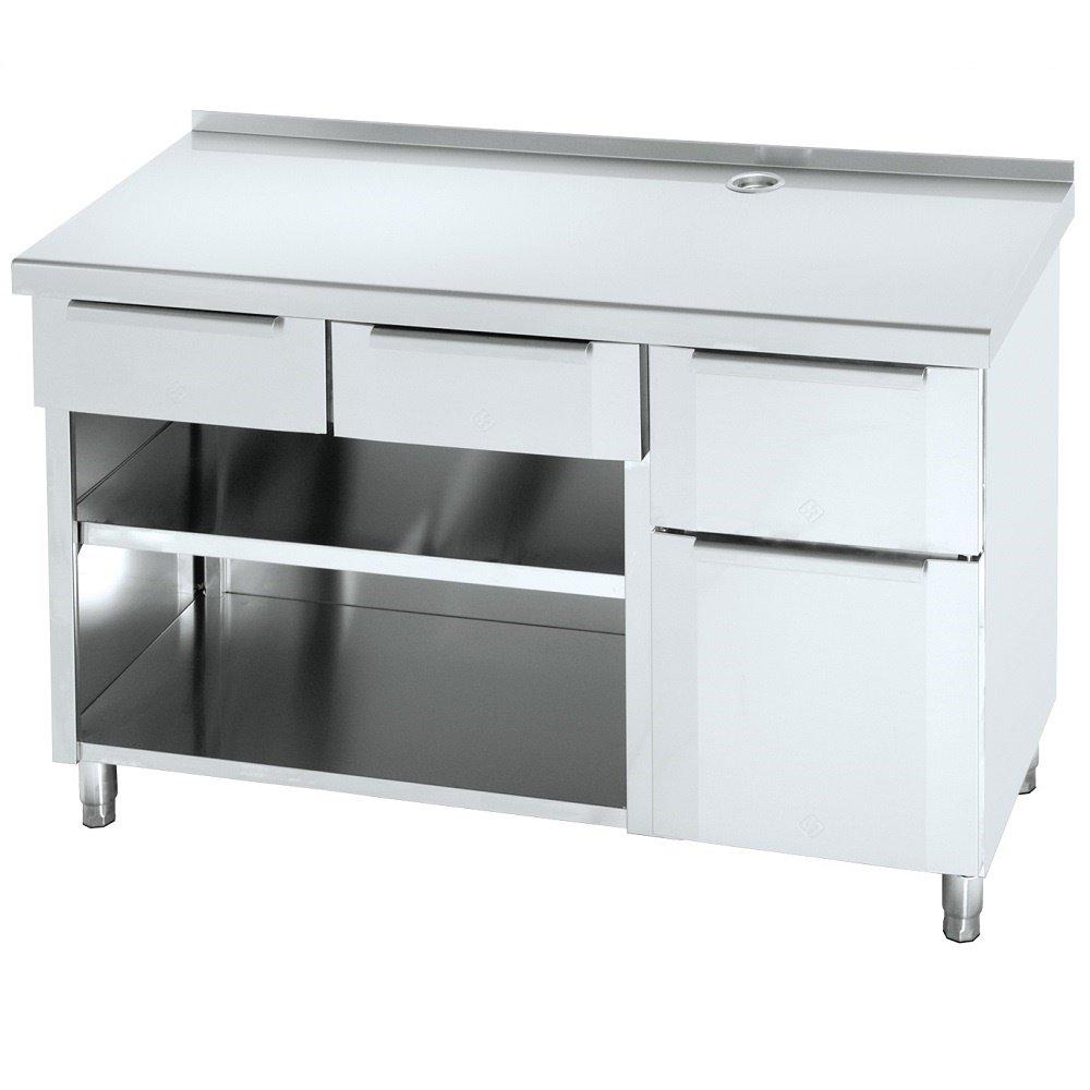 Macfrin 1210 Mueble de 150X60 Cafetero Trasbarra: Amazon.es ...