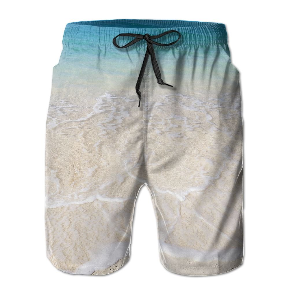 Wave Fine Sand Man Beach Shorts Quick Dry Casual Board Pants Swim Trunks XL