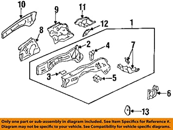 Miraculous Amazon Com Genuine Honda 60831 Sv4 970Zz Transmission Mount Bracket Wiring Database Numdin4X4Andersnl