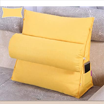 Adjustable Wedge Back Pillow Sofa Bed Office Chair Cushion Backrest Support Pad