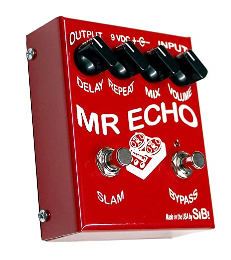 SIB Mr Echo Pedal para efectos para guitarra: Amazon.es ...