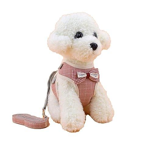 CHUNXU - Arnés para Perros pequeños, arnés para Chaleco de Mascota ...