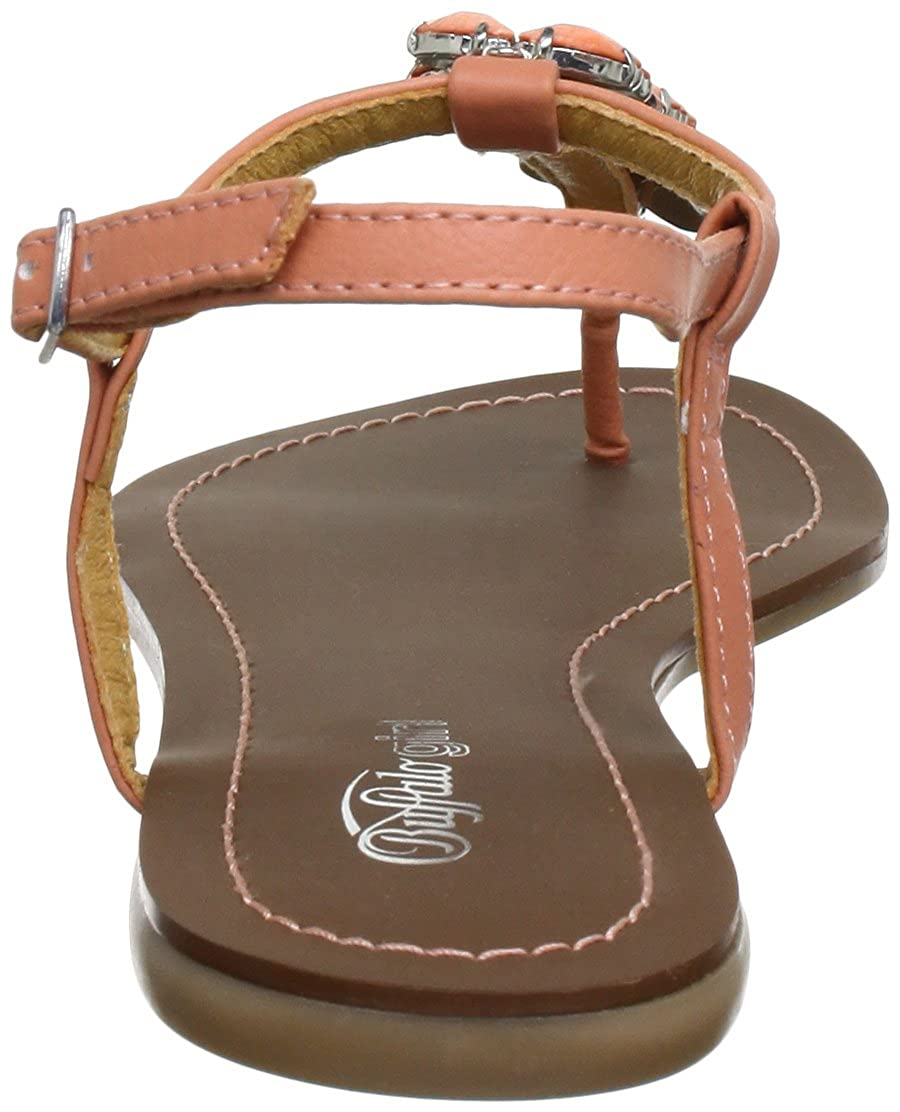 Buffalo Girl Zehentrenner 312-0690 LEATHER PU Damen Zehentrenner Girl 4c04e7