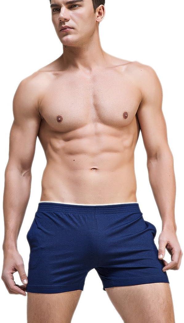 SUPERBODY Boxer Briefs Cotton Mens Underwear Sleep Shorts