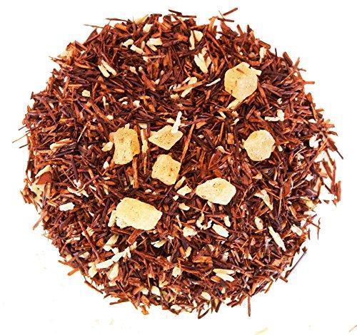 Pineapple Coconut Rooibos Tea - Red Tea - 100% Natural - Decaffeinated - Loose Leaf Tea - 2oz