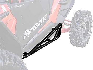 Steel Tube Rock Sliders fits 2015-19 Polaris RZR 900 1004BK and Turbo XP1000
