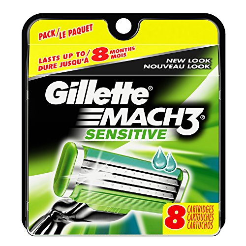 gillette-mach3-power-mens-razor-blade-refills-sensitive-8-count-packaging-may-vary-mens-razors-blade