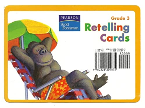READING 2008 RETELLING CARDS GRADE 3