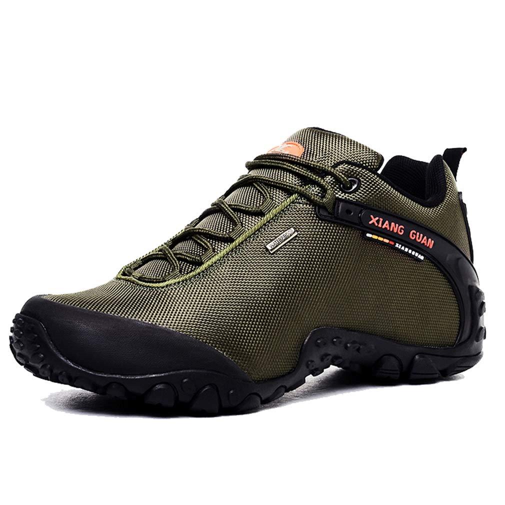 XIANG GUAN Hommes Outdoor Footwear Impermé able Respirant Lé ger Chaussures Trekking Voyage Running Sneaker MSXG81283LKM