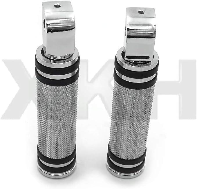 Diamond Chrome Footpeg Footrest For Honda Rear 99-02 Shadow 1100 96-04 750 Magna
