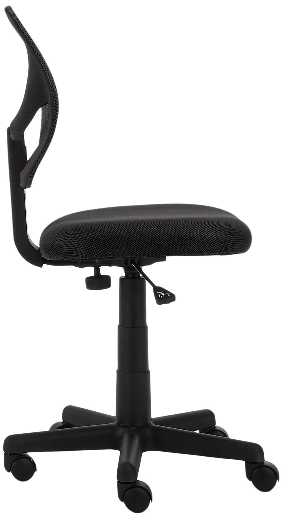 AmazonBasics Low-Back Computer Task/Desk Chair with Swivel Casters - Black by AmazonBasics (Image #4)