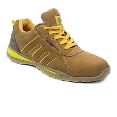 e20bfa89a3a MENS SAFETY TRAINERS WORK STEEL TOE CAP SHOES BOOTS SIZE 6-12UK HIKING  WALKING (