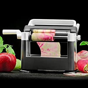 Lurch Germany Catto Vegetable Sheet Slicer Cutter For Fruits And Vegetables - Perfect for Low Carb, Keto, Veggie, Vegan Dishes Like Zucchini Lasagna or Pasta Made From Potato, Apples And Pears