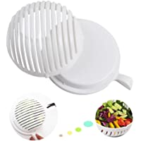 60 Seconds Salad Cutter Bowl, kyerivs Vegetable Salad Cutter Maker Bowl – Make Your Healthy Fresh Salad in Seconds