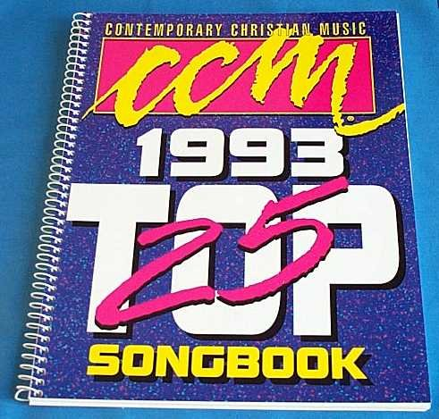CCM 1993 Top 25 Songbook