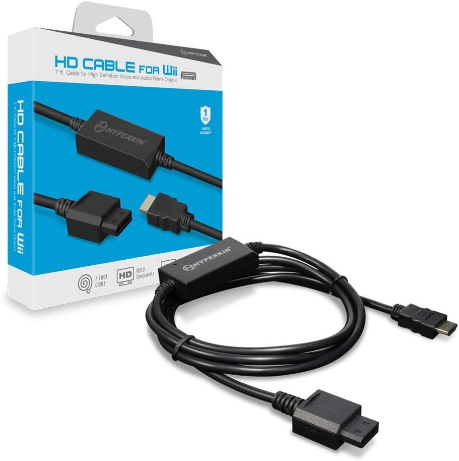 Amazon com: Hyperkin HD Cable for Wii: Video Games