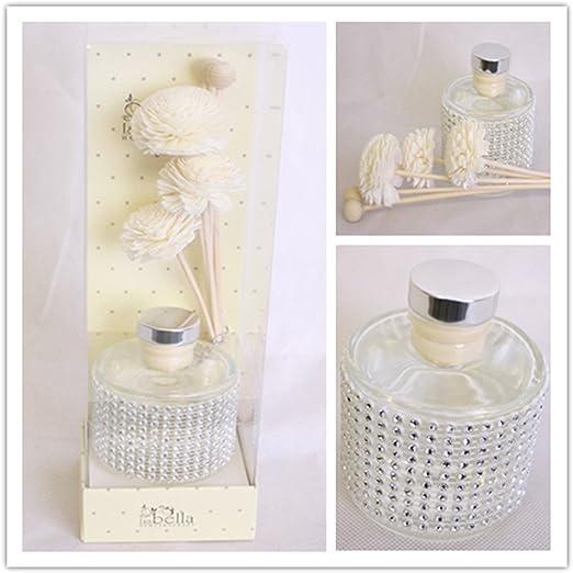 Isabella hogar fragancia algodón Reed Stick Flor Difusor de aceite ...