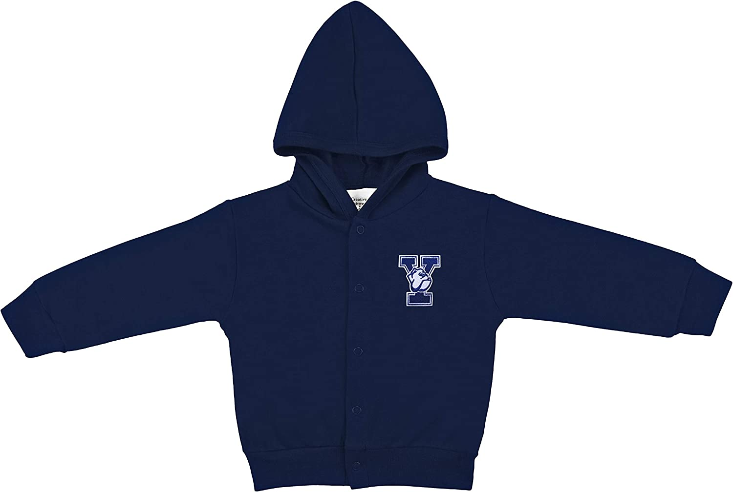 Yale University Bulldogs Baby and Toddler Snap Hooded Jacket