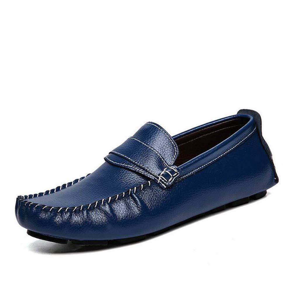 Hy Herrenschuhe, 2019 2019 2019 Frühlingsschaufe, Loafers & Slip-Ons Lazy Schuhe Erbschuhe, die Schuhe Laufen,Blau,45 27f565