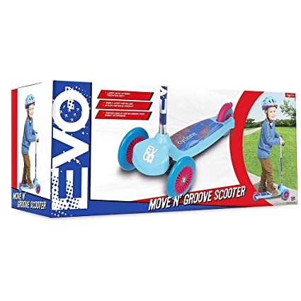Evo Move and Groove - Patinete (Azul/Rojo): Amazon.es ...