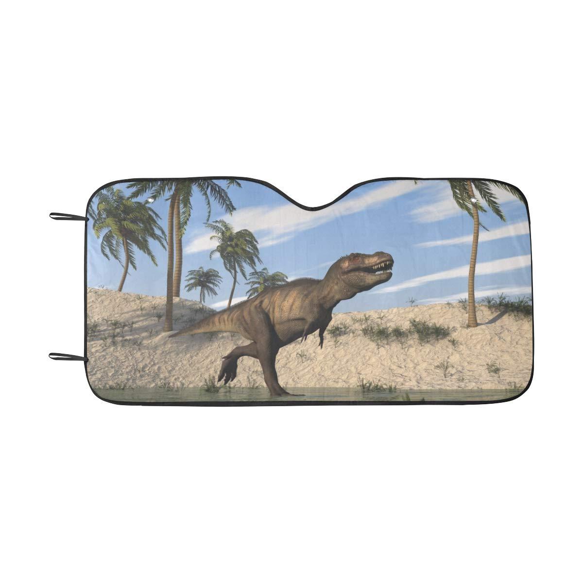 Paraguas Coche Divertido Parasol Sombra M/ágico Tyrannosaurus Rex Visera Solar Ajuste Universal Delantero Mantener Refrescador Fresco Cami/ón SUV 55x30 Autos Sombrilla Parabrisas autom/óvil