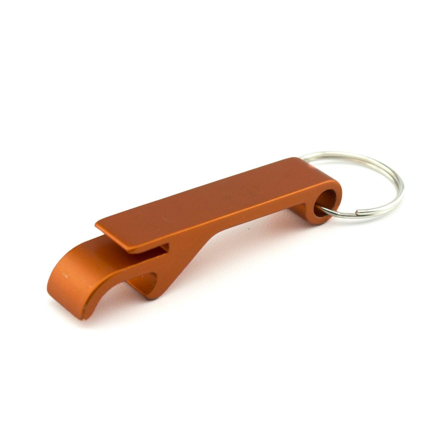 Swatom Classic Solid Aluminum Bottle Opener Keychain, Pocket Beer Bottle Opener, 1 Piece