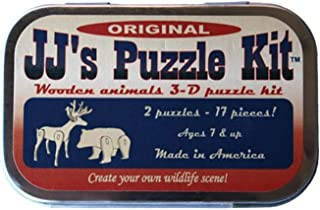 product image for Channel Craft JJs Puzzle Kit, Original, Two 3-d Wooden Animals