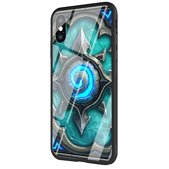 best service 26ad5 c7931 Amazon.com: DAVIDLING Phone Case for iPhone 5/5s/SE, Tempered Glass ...