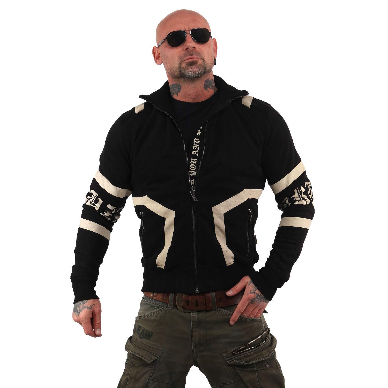 Yakuza Herren Too Much Trainingsjacke Zipper
