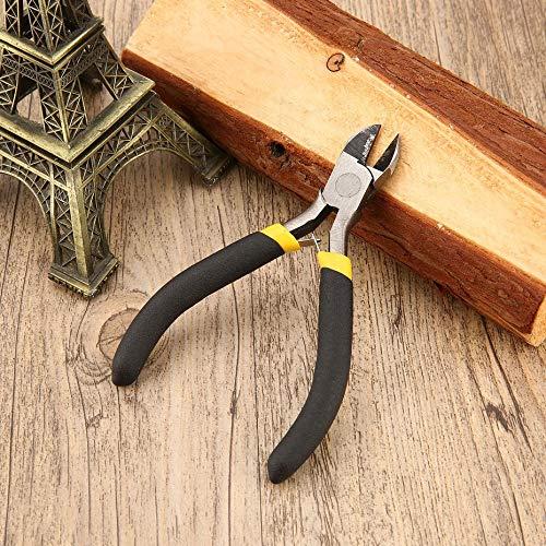 plana port/átil acero al carbono duradero joyer/ía Ligero larga Multicolor bisuter/ía forja redondo herramienta de alicates mini