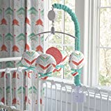 Carousel Designs Coral and Teal Arrow Mobile