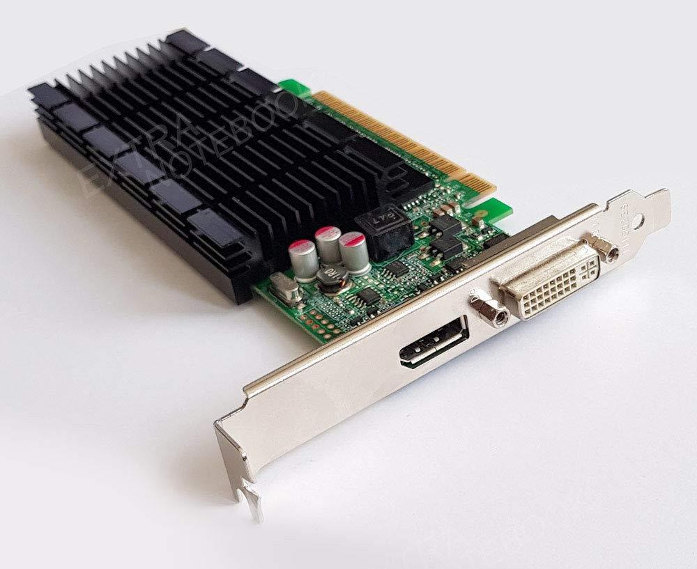 NVIDIA Tarjeta gráfica GeForce 605 DP s26361-d2422-v605 PCIe DVI ...