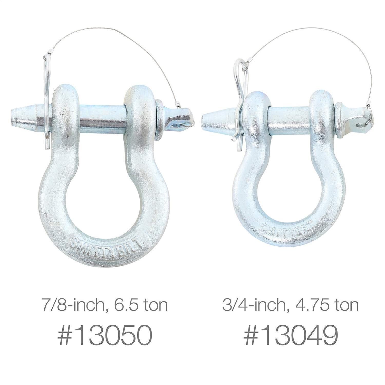Smittybilt 13050 7//8 Quick Release D-Ring