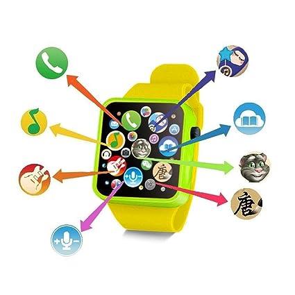 nisels Reloj Educativo de la Infancia del Reloj de Pulsera del niño Reloj  de Juguete de ddfc7daff3a