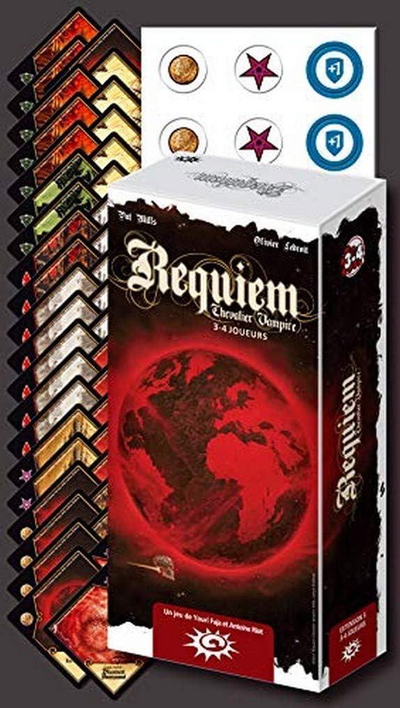 Asmodee- Requiem Caballero Vampire-Extension 5: 3-4 Jugadores, ASTREQ05, Multicolor , color/modelo surtido