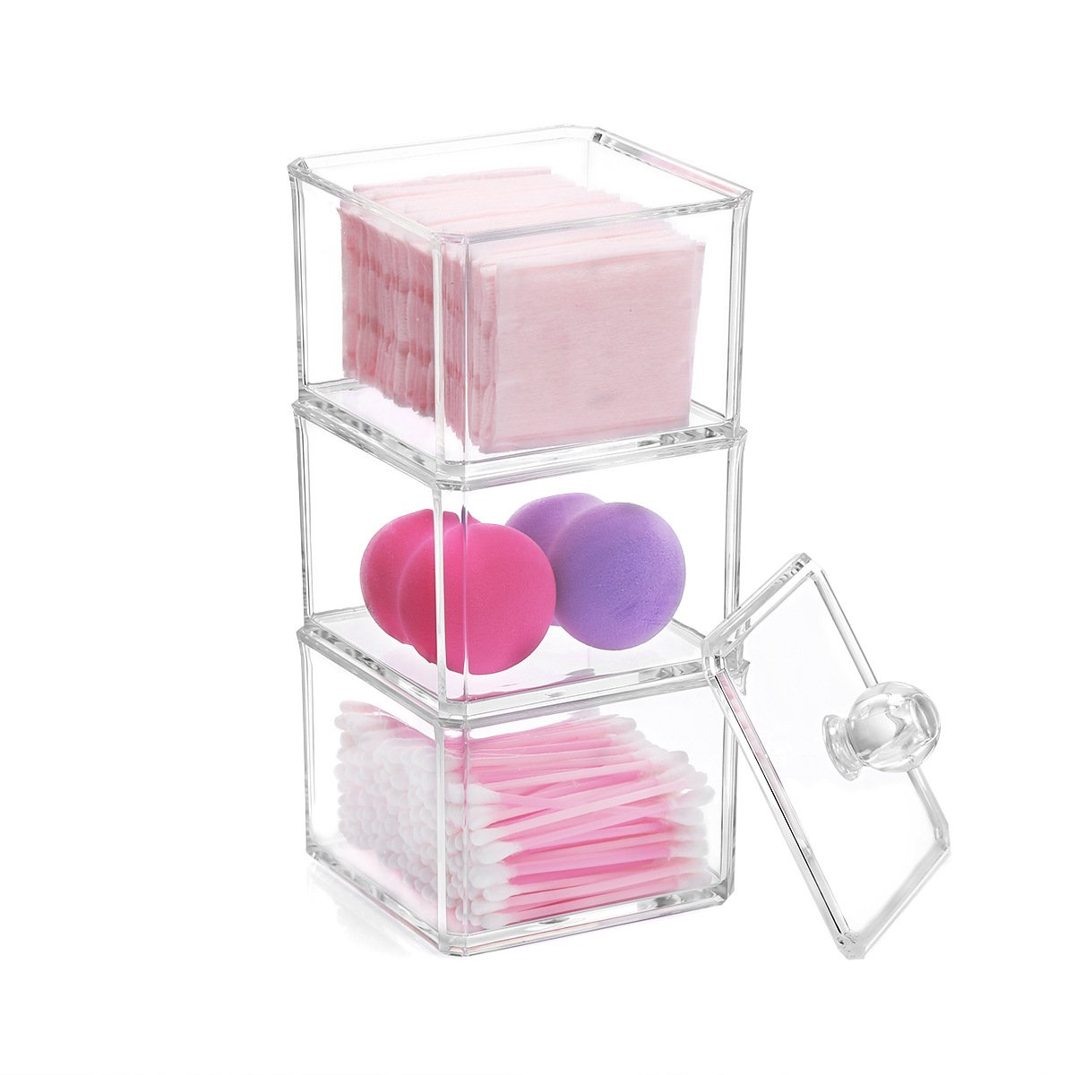 Amazon.com : Sooyee 9 Compartments Clear Acrylic Small