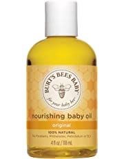 Burt's Bees Bee Nourishing Baby Oil 4 oz