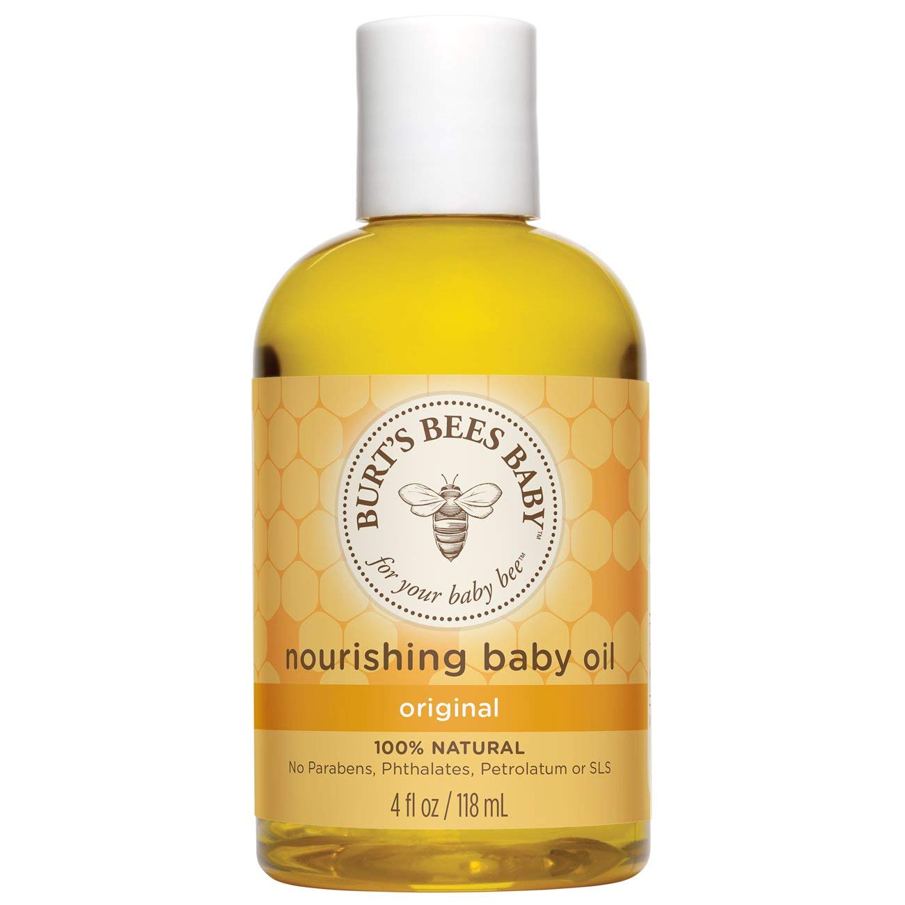 Burt's Bees Baby Bee Nourishing Baby Oil 4 oz Burt' s Bees thomaswi