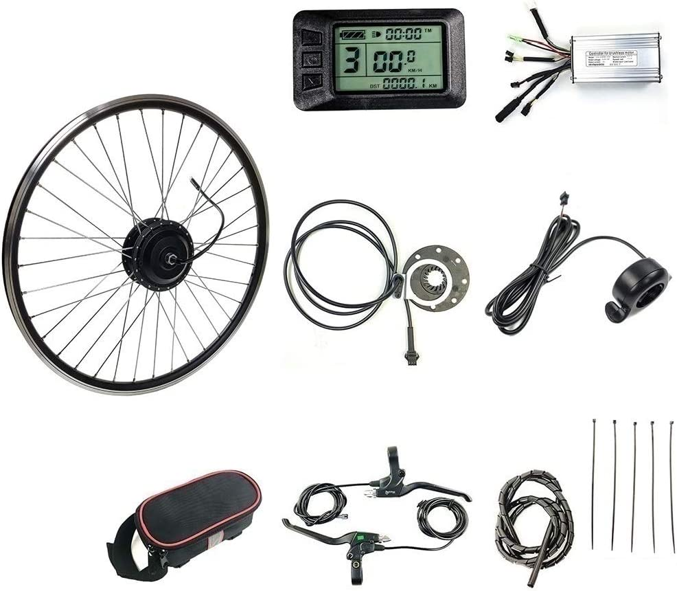 """26 /"""" 250W 36V Hi-Speed vélo électrique kit de conversion Roue Arrière E-Bike kit"""