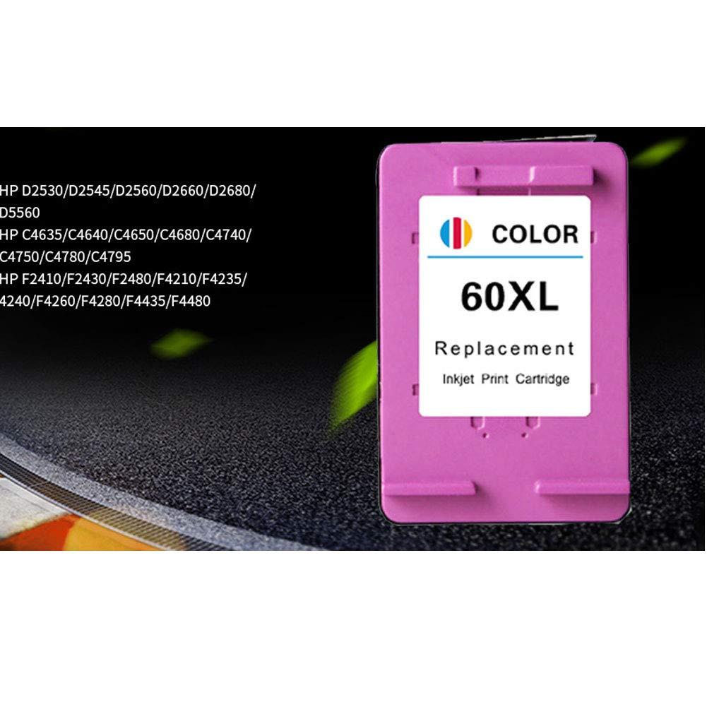 Reemplazo de cartucho compatible con tinta inteligente para HP60XL ...