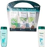 ESTORE4U Himalaya Refreshing and Clarifying Toner, Skin Neem Facial Kit, Refreshing Cleansing Milk