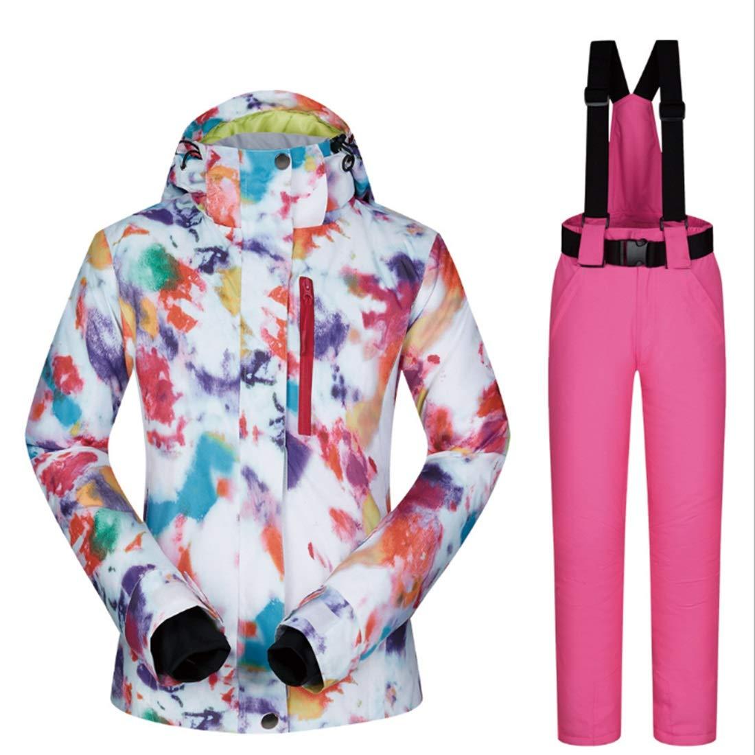 Ovesuxl - Tuta da Sci e Pantaloni Donna, da Donna, Pantaloni Antivento e Impermeabile, 03, LargeB07KRZG3N2Large 05 c74ce5