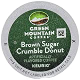 GREEN MOUNTAIN Coffee Keurig K-Cups, Brown Sugar Crumble Donut, 3.7 Ounce, 12 ct