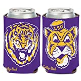 WinCraft LSU Tigers Official NCAA 12 oz. Insulated Coozie Can Cooler by 165916